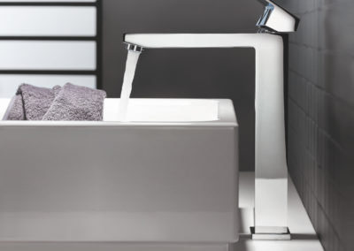 Eurocube Raised basin mixer