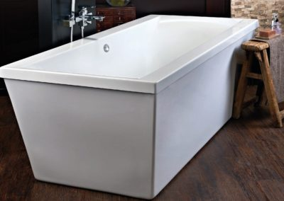 libra life Style freestanding bath cubo