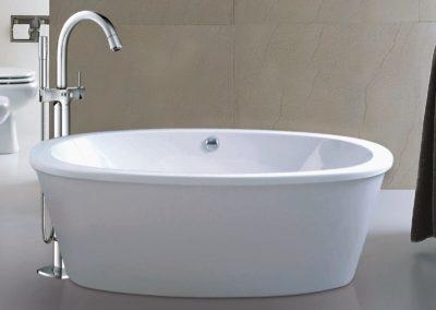 libra life Style freestanding bath mario